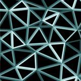 Vector geometrische naadloze achtergrond Royalty-vrije Stock Fotografie