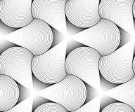 Vector geometrische naadloze patronen royalty-vrije illustratie