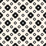 Vector geometrische naadloze patroon verschillende bloemenvormen Royalty-vrije Stock Afbeelding