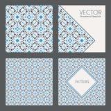 Vector Geometrische Patronen Royalty-vrije Stock Foto's