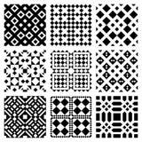 Vector Geometrische Tegels Stock Foto