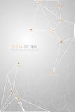 Vector geometrische veelhoekachtergrond Stock Foto's