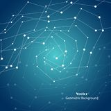 Vector geometrischen Hintergrund Lizenzfreie Stockfotos