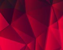 Rote Linien geometrischer Hintergrund ENV 10 Lizenzfreie Stockbilder
