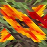 Vector geometrisches Muster mit geometrischen Formen, Raute Lizenzfreie Stockfotografie