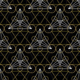 Vector Geometry Seamless Pattern Stock Photography