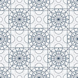 Vector Geometry Seamless Pattern Royalty Free Stock Image