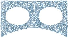 Vector Geplaatste Patronen royalty-vrije illustratie