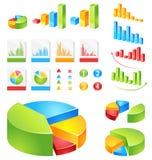 Vector geplaatste rapporten stock illustratie