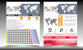 Vector geplaatste Vliegermalplaatjes Royalty-vrije Stock Afbeeldingen