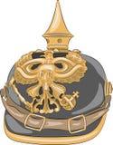 Vector. German Kaiser helmet. Royalty Free Stock Photography