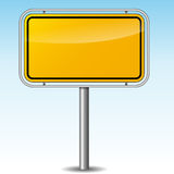Vector german roadsign Stock Photo