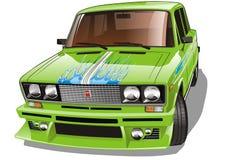 Vector gestemde auto royalty-vrije illustratie