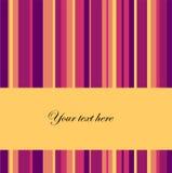 Vector gestreepte achtergrond met plaats voor tekst royalty-vrije illustratie