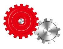 Vector getrokken toestellen, die netwerkgradiënten gebruiken stock illustratie
