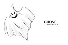 Vector ghost Royalty Free Stock Images