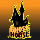 Vector ghost house. Vector image ghost house for your template Stock Photo