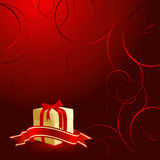 Vector gift box Stock Images