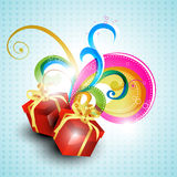 Vector gift box Royalty Free Stock Images