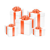 Vector gift box. Royalty Free Stock Image