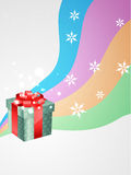Vector gift box Royalty Free Stock Photos