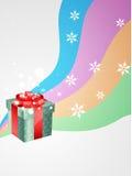 Vector gift box Royalty Free Stock Photos