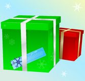 Vector gift boxes Royalty Free Stock Image