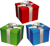 Vector gift illustration Stock Images