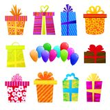 Vector gift set Stock Image