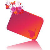Vector gift tag Stock Photography