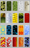 Vector gift tags and bookmarks… Stock Images
