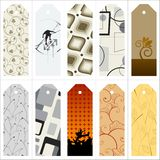 Vector gift tags and bookmarks… Royalty Free Stock Photography