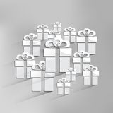 Vector gift web icon Royalty Free Stock Photo