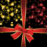 Vector gift wrap Stock Images
