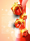 Vector giftbox Royalty Free Stock Images