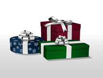 Vector gifts Stock Photography