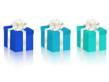 Vector gifts set Royalty Free Stock Photos