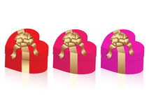 Vector gifts set Royalty Free Stock Images