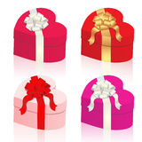 Vector gifts set Stock Photos