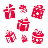 Vector gifts Royalty Free Stock Images