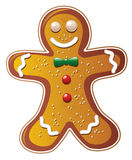 vector gingerbread cookie royalty free illustration