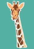 Vector giraffe abstract illustration Stock Images