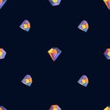 Vector glamour diamond background Stock Photos