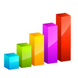 Vector diagram Stock Photography
