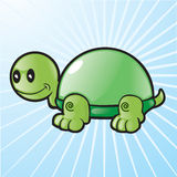 Vector Glass Shell Turtle Royalty Free Stock Photos