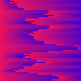 Vector glitch background. Digital image data distortion. Colorful abstract background for your designs. Royalty Free Stock Photos
