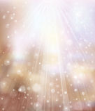 Vector glitter  background with rays and lights. Stock Images