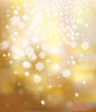 Vector glitter golden background. Stock Photo