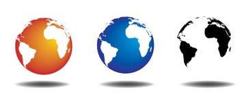 Vector Globe Stock Image