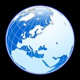 Vector globe. Royalty Free Stock Photos